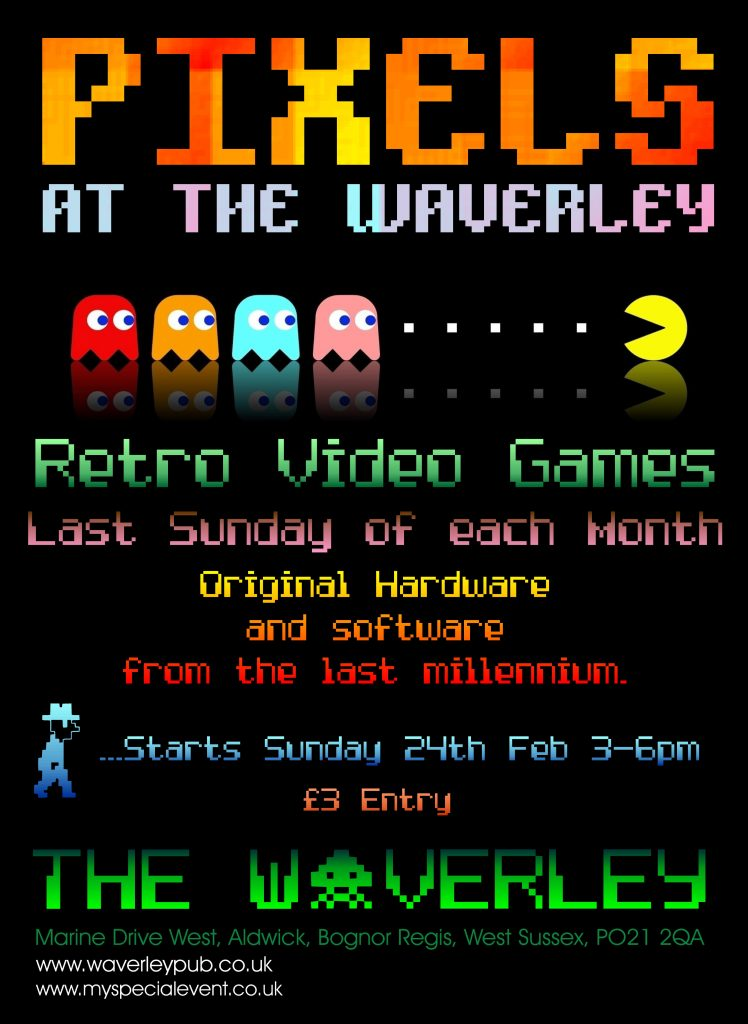 Pixels At The Waverley Retro Video Gaming Event