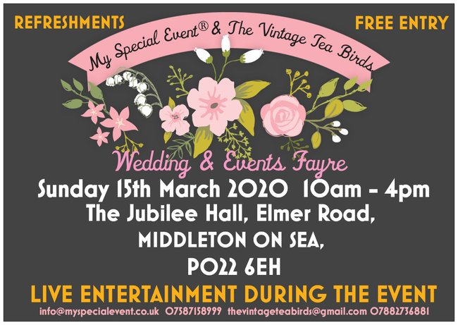 Wedding and Events Fayre