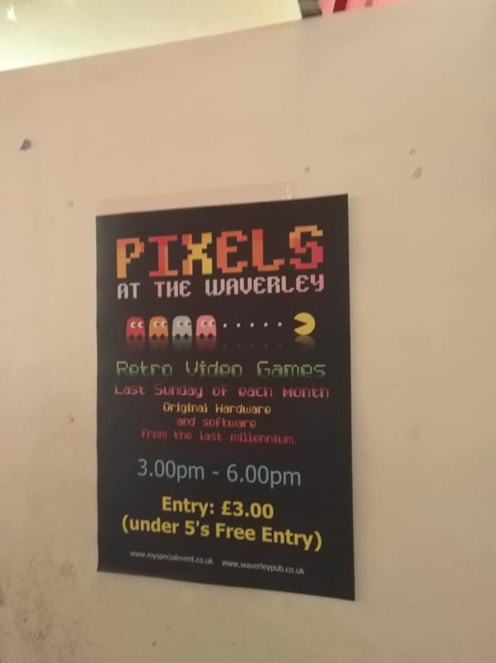 Pixels at The Waverley