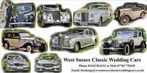 West Sussex Classic Wedding Cars