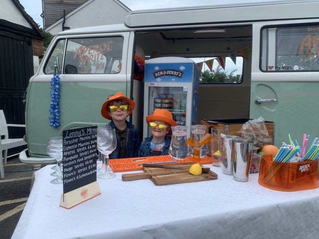 Lenny the Campervan Rides into Fayre 5