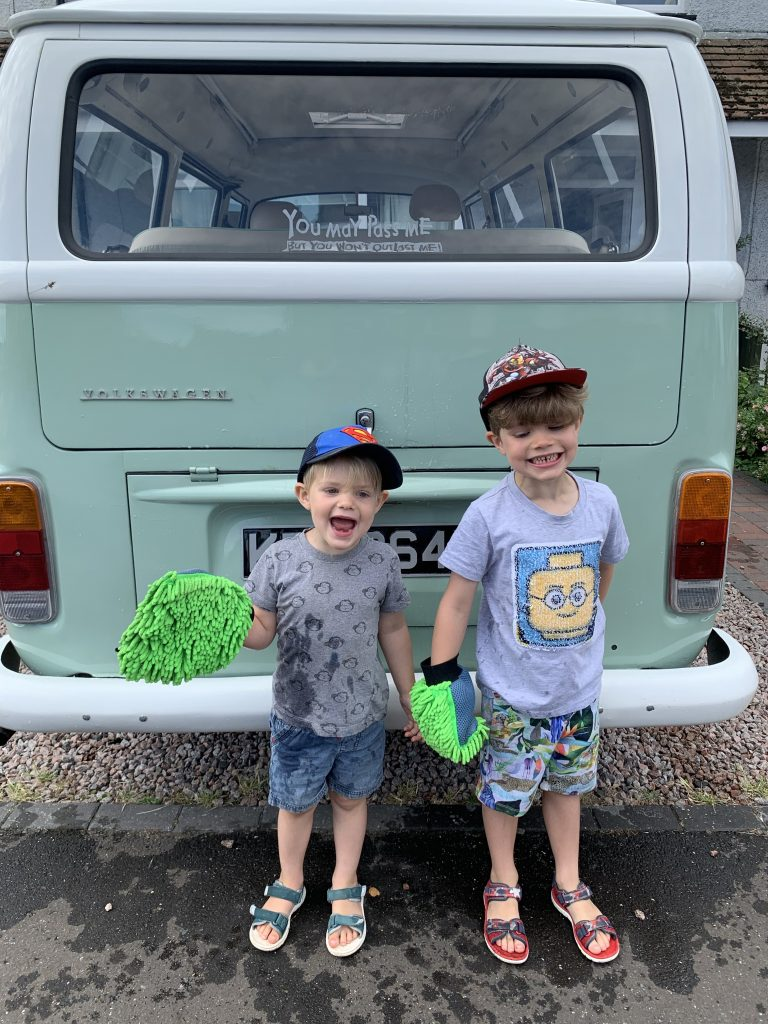 Lenny the Campervan Rides into Fayre 6