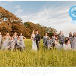 Crowd Photo at Wedding Bride Groom and Wedding Party