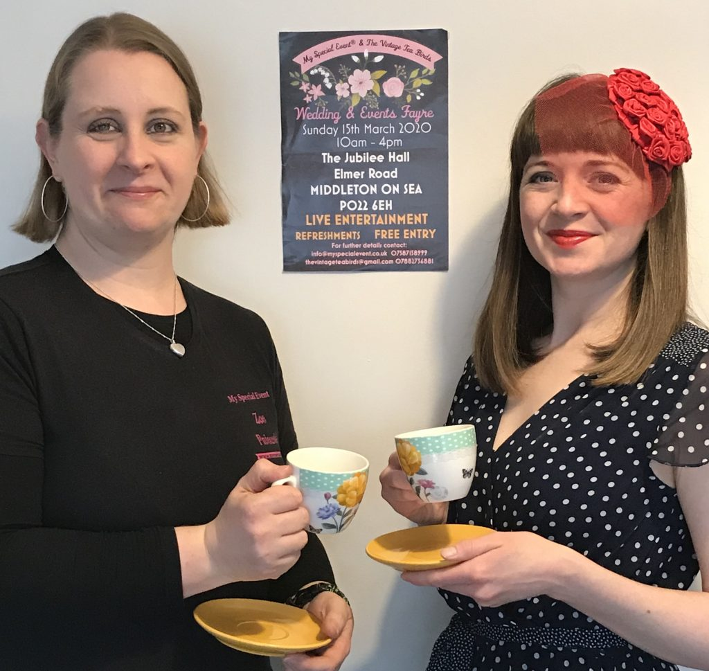 Event Fayres - My Special Event and The Vintage Tea Birds