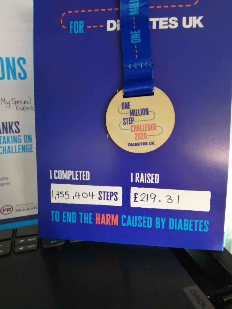 My Special Events Medal for Challenge
