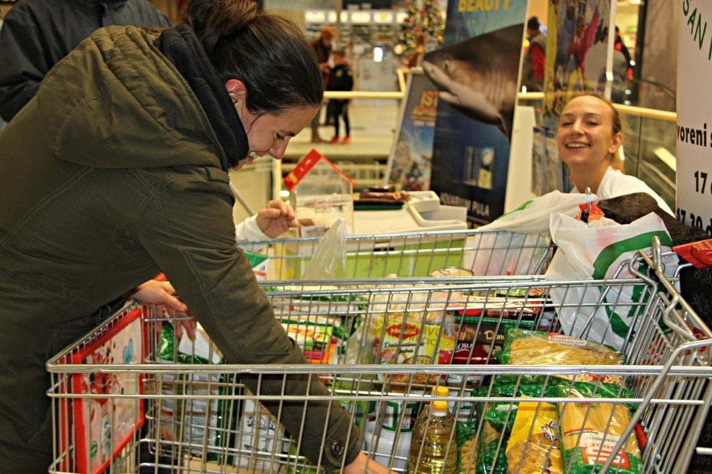 Donations - Shopping Trolley